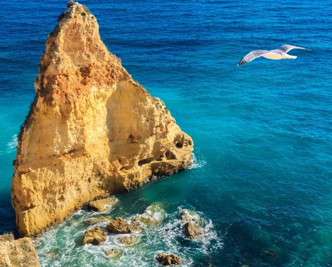 Kamperem z Hiszpanii na plaże Portugalii